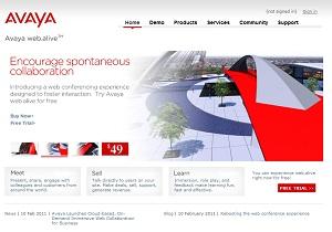 Avaya web.alive
