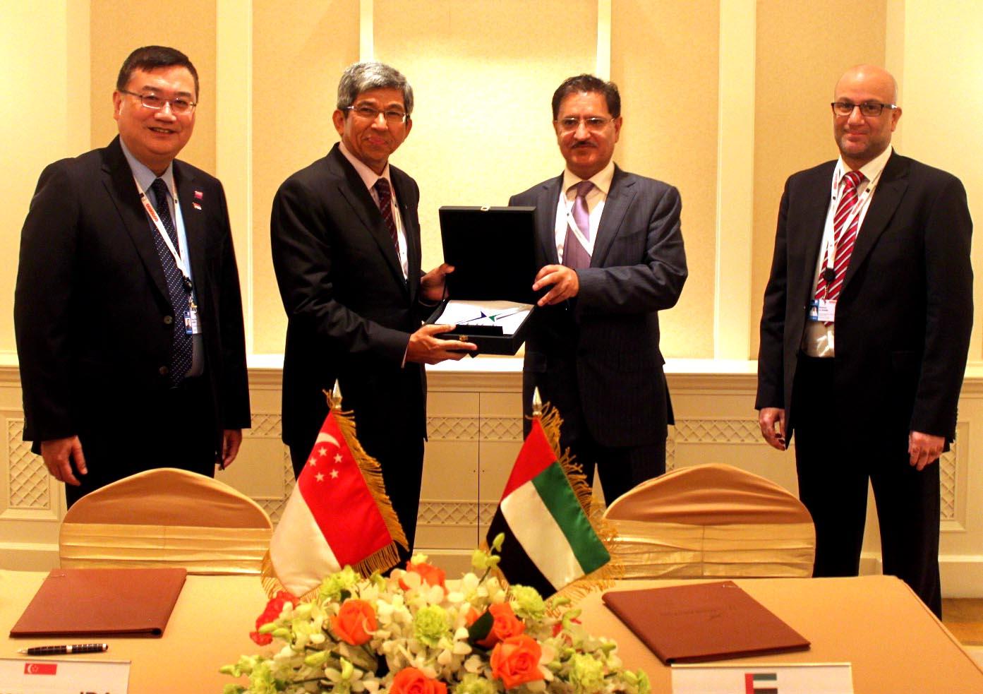 IDA Singapore and TRA UAE sign MoU – Channel Post MEA