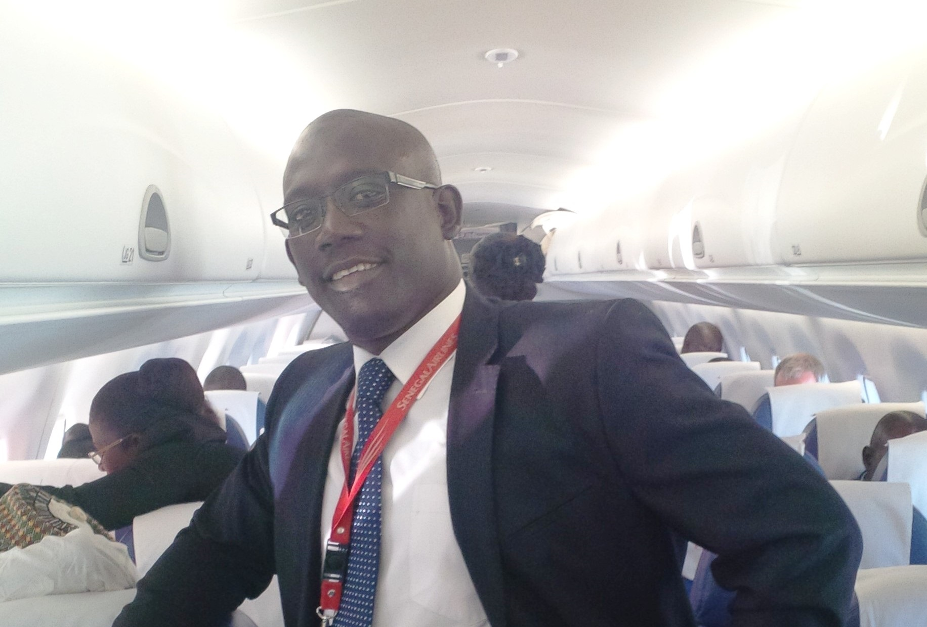 Abdoul Aziz NDAO, manager of the Sénégal Airlines information system