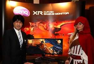 BenQ 35-inch Curved Gaming Monitor