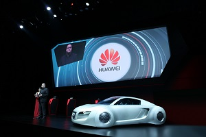Huawei's Partnership with Audi on Interconnected Car Technology_CP