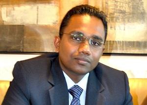 Dilhan Devaditiya, IT Manager at the Bonnington