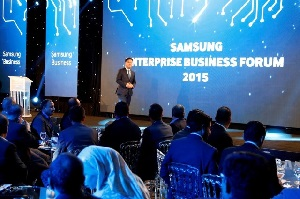 Bumsuk Hong, president for Levant region at Samsung Electronics