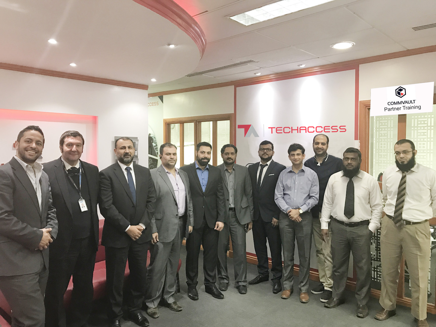 TechAccess Hosts Training Session in Saudi Arabia