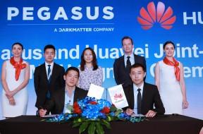Pegasus – Huawei MoU signature
