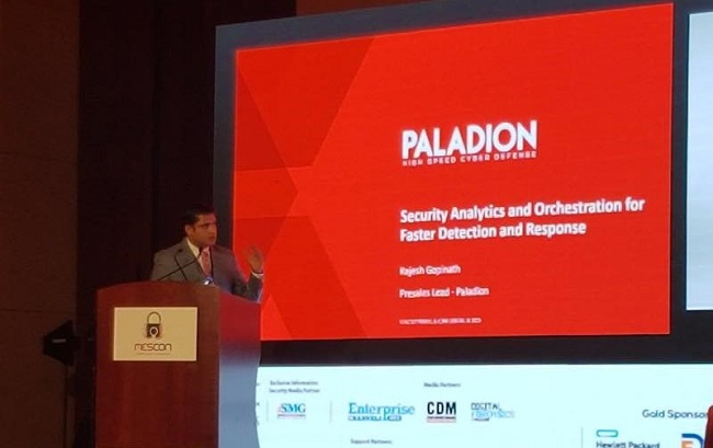 Rajesh Gopinath, Pre-Sales Head for MEA at Paladion