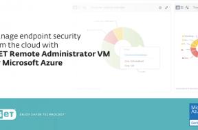 Image 01 – ESET Remote Administrator VM for Microsoft Azure