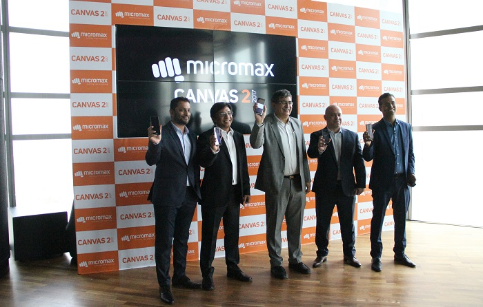 Micromax launches Canvas 2, 2017 edition – Channel Post MEA