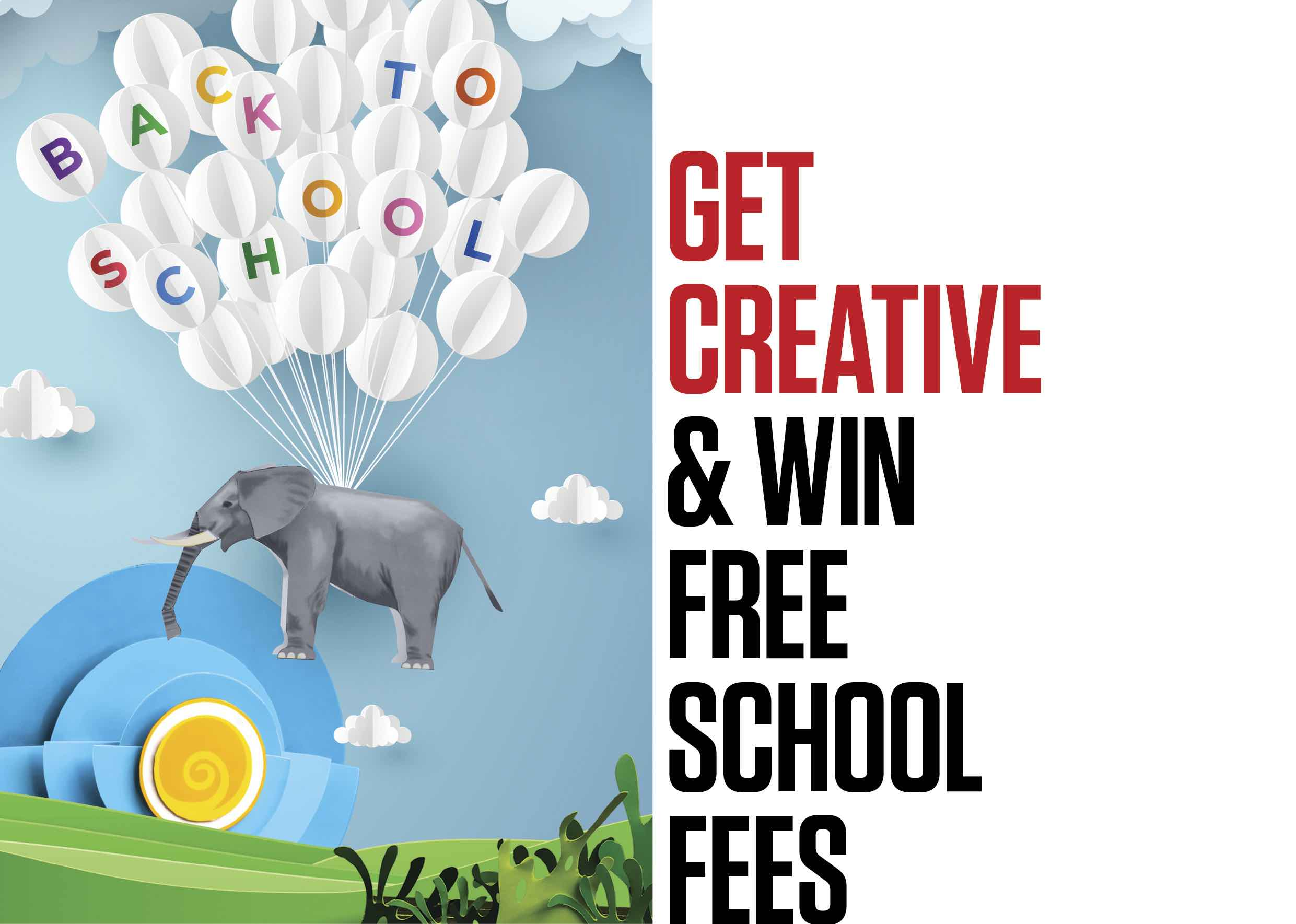 Get Creative & Win Free School Fees