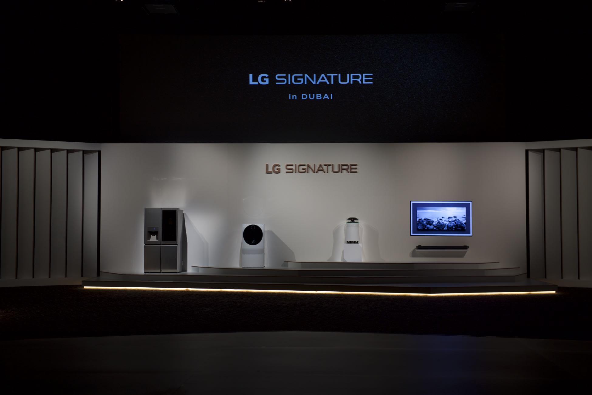 LG SIGNATURE Launch