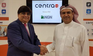 Nisith Naik CEO of Centra Hub and Yaqoob Al Awadhi CEO of NGN International 2