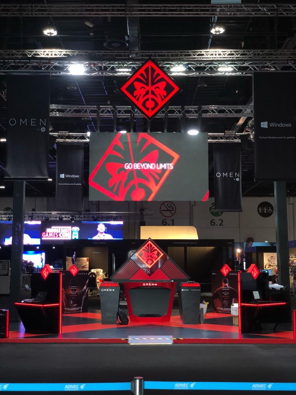 HP at Games Con 2017