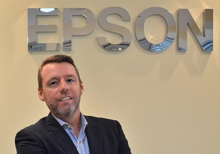 Jason Whiley, director of sales at Epson Middle East