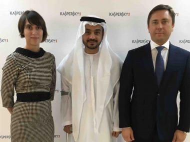 (L-R) Maria Namestnikova, Faisal Mohammed AlShimmari, Maxim Frolov copy