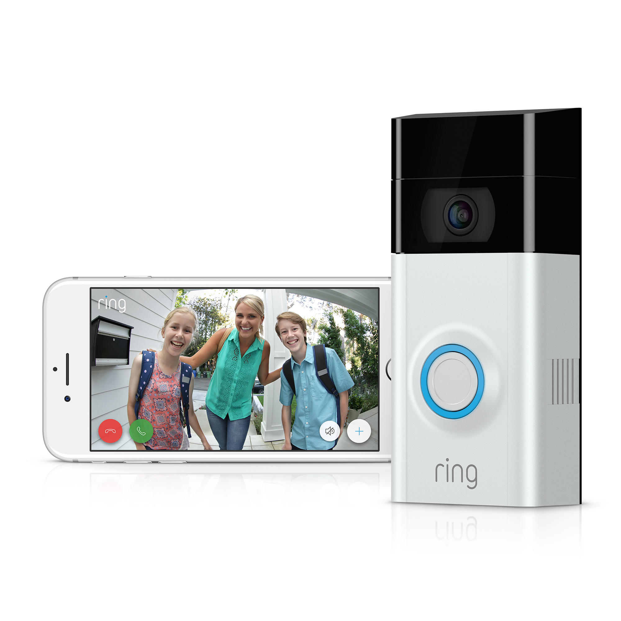 ring intros new smart video doorbell channel post mea. Black Bedroom Furniture Sets. Home Design Ideas