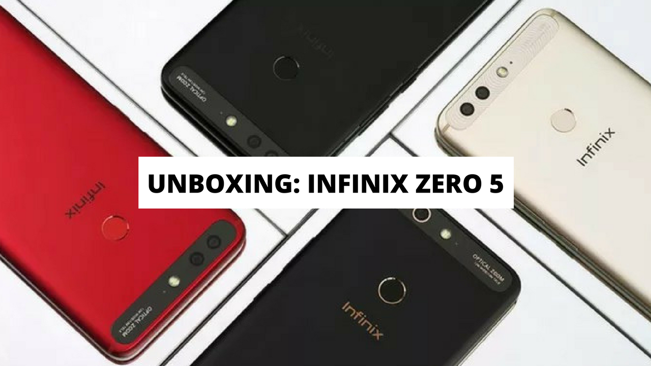 Watch: Infinix Zero 5 – Unboxing and Quick Preview
