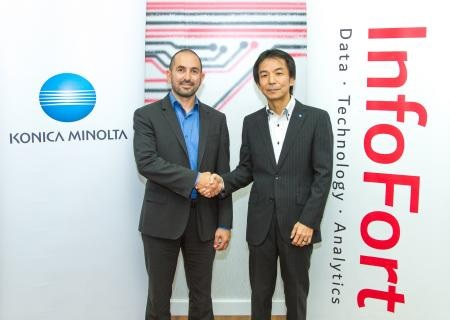 Konica Minolta & Infofort Join Forces