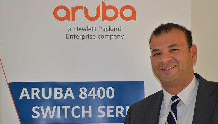 Ahmed Ibrahim Mohamed, SE Manager, Aruba