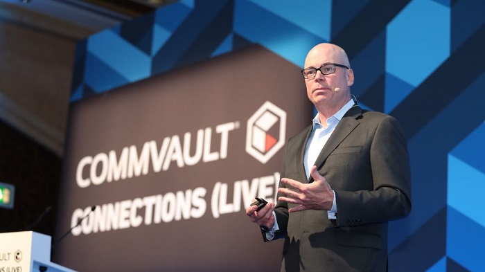 Chris Powell – CMO at Commvault – at Commvault Connections Live
