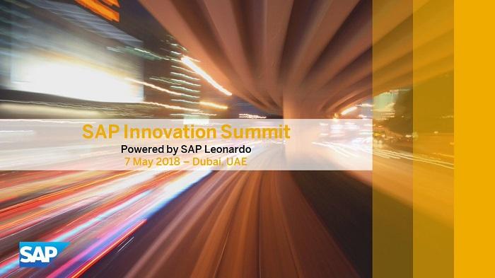 SAP Innovation Summit Dubai