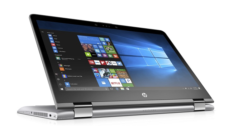 HP unveils new powerful convertible PC
