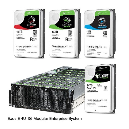Seagate launches widest range of 14TB hard drives
