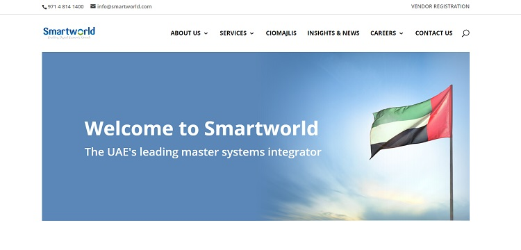 Smartworld unveils its new corporate website