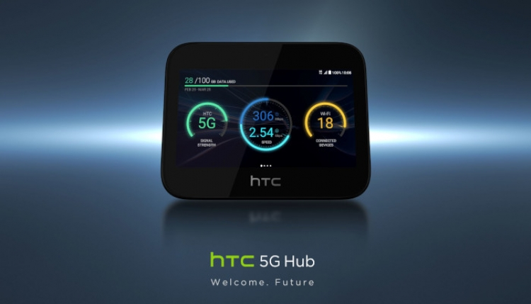 HTC unveils new 5G mobile smart hub