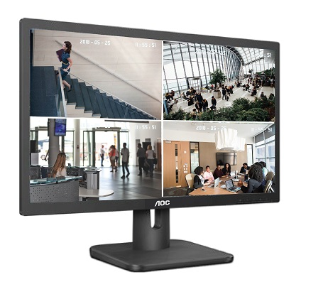 AOC launches Monitor for Video Surveillance