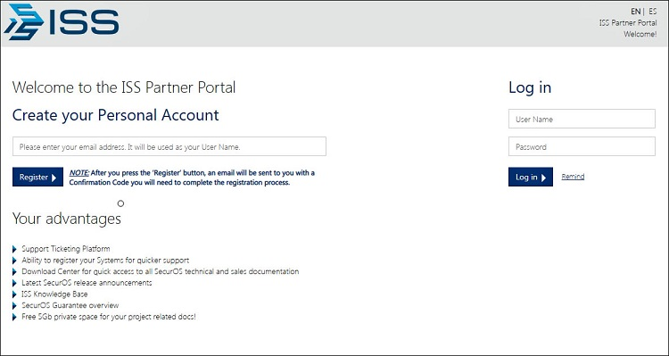 ISS new Partner Portal launched