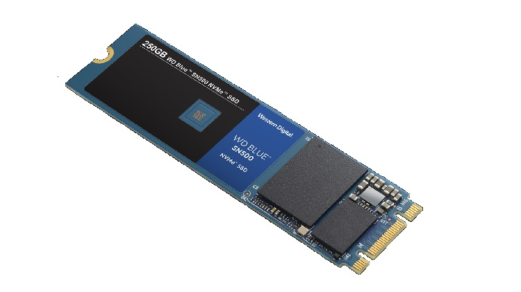 Western Digital launches new WD Blue SN500 NVMe SSD