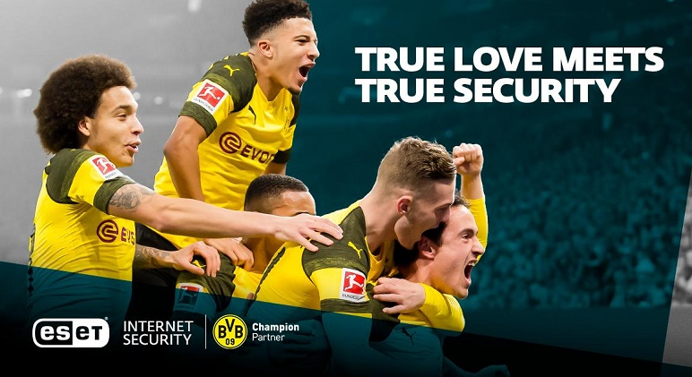 ESET Champion Partner of Borussia Dortmund