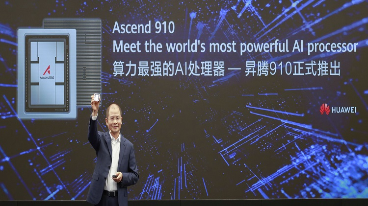 Huawei launches Ascend 910, the world's most powerful AI processor