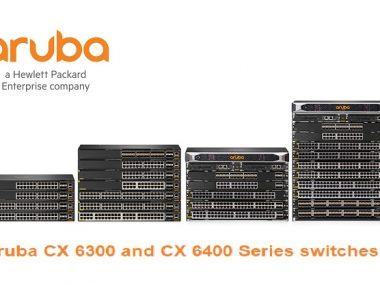 Aruba CX 6300 and CX 6400 Series switches