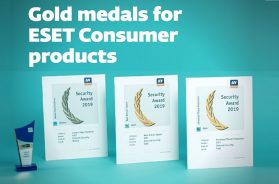 AV-Comparatives recognizes ESET_ Gold Medals